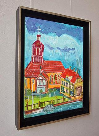 Edward Dwurnik : Chojna : Oil on Canvas