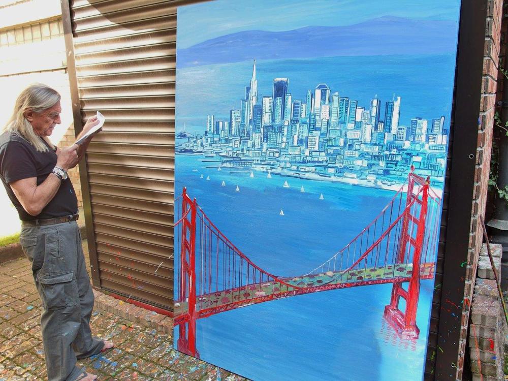 Edward Dwurnik : San Francisco