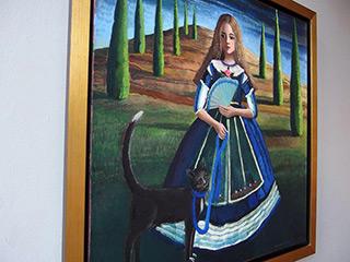 Katarzyna Karpowicz : Infanta : Oil on Canvas