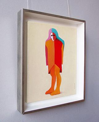 Katarzyna Castellini : Harlequin : Oil on Canvas