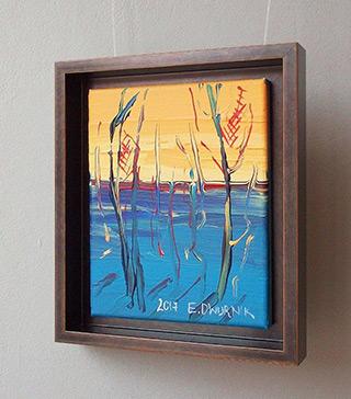 Edward Dwurnik : Beech No 1 : Oil on Canvas