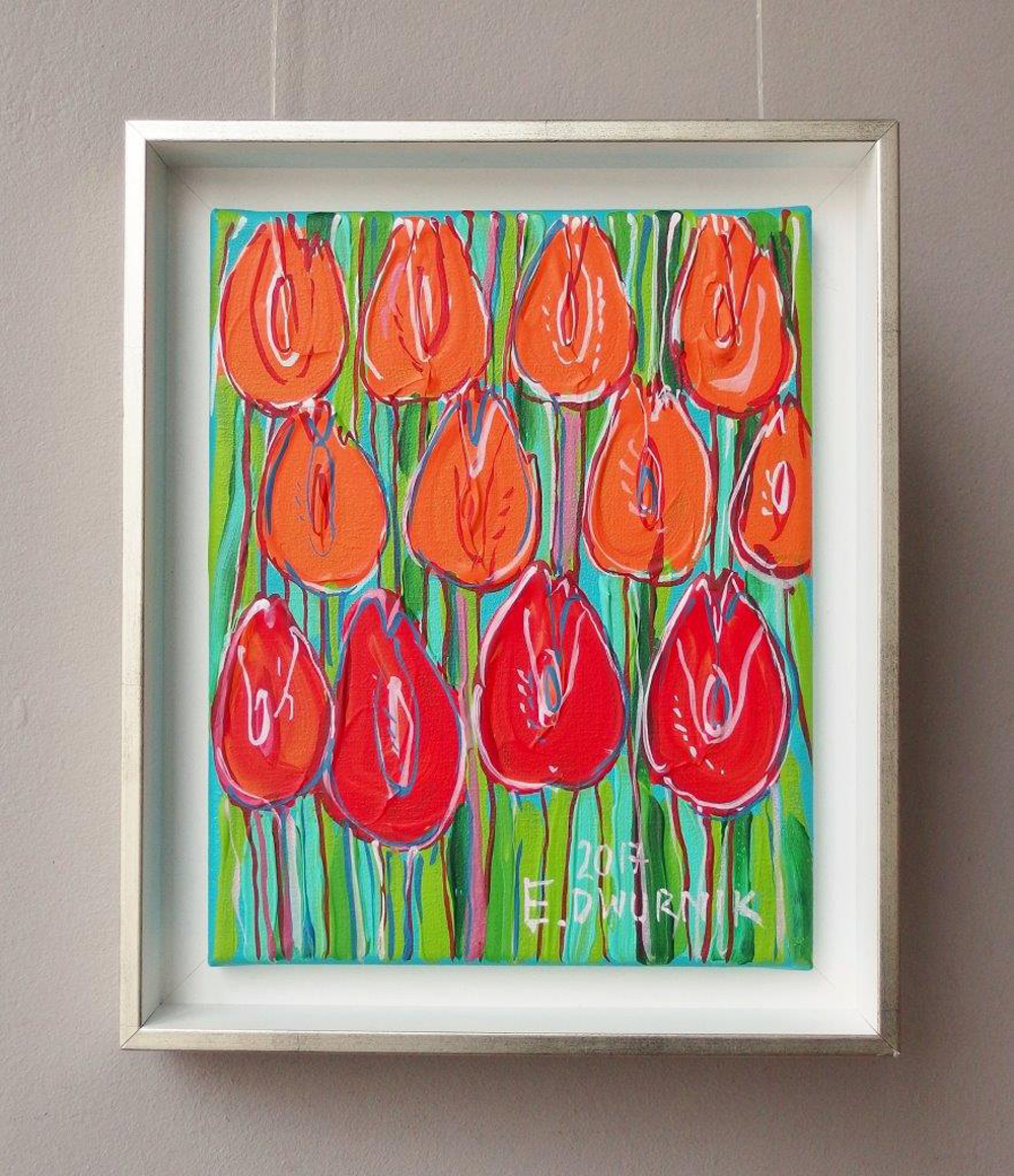 Edward Dwurnik : Positive tulips