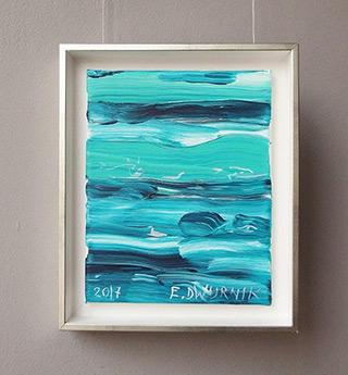 Edward Dwurnik : Sea No 1 : Oil on Canvas
