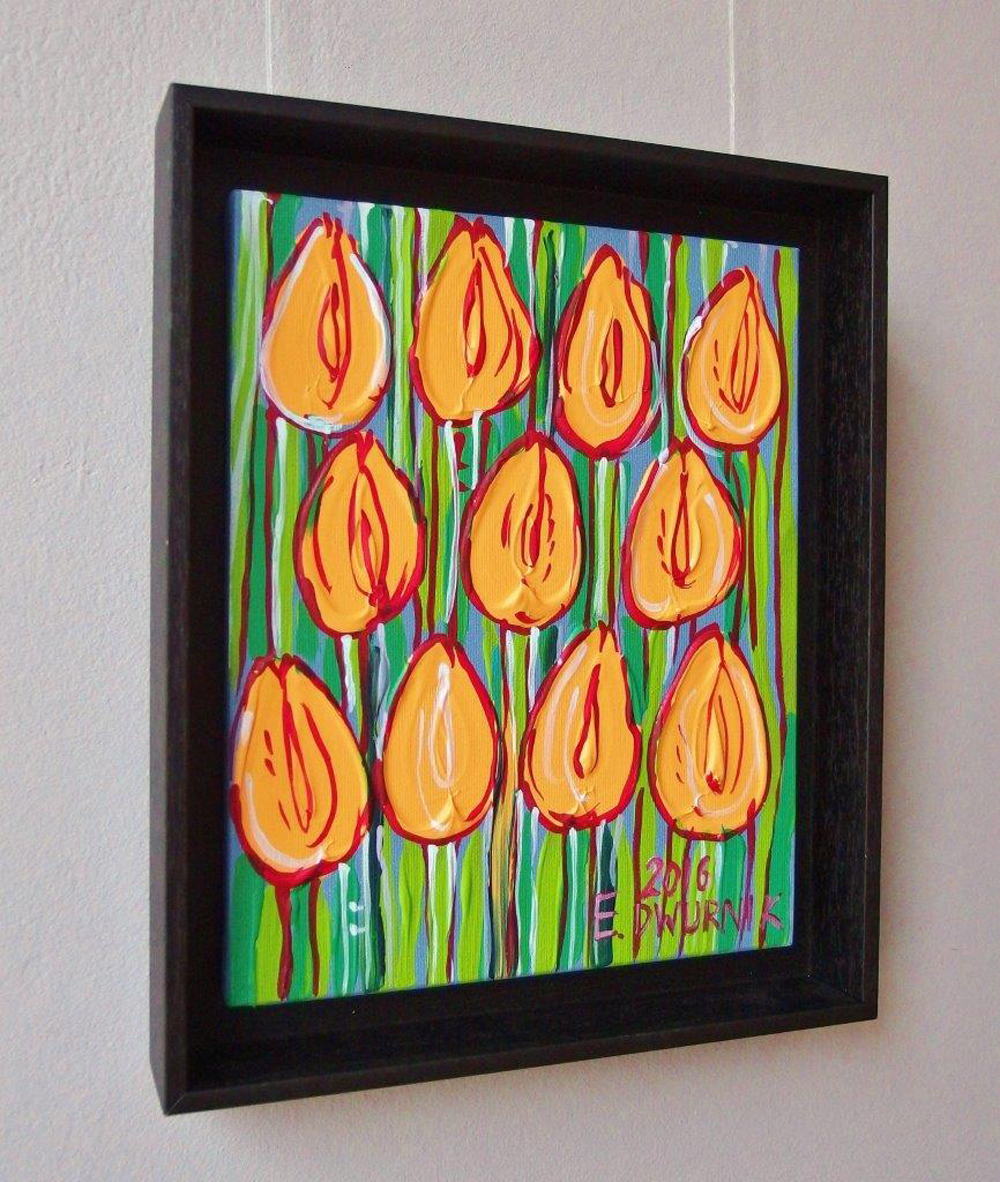 Edward Dwurnik : Yellow tulips