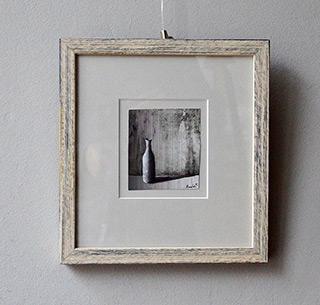 Łukasz Huculak : White detail : Tempera on paper