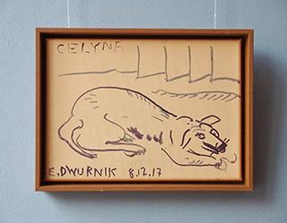 Edward Dwurnik : Celyna : Acrylic on canvas