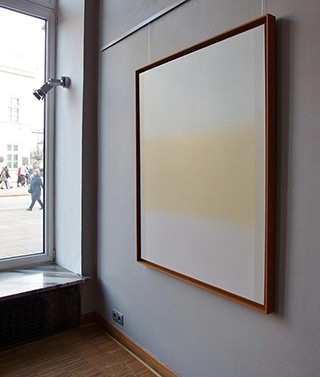 Anna Podlewska : Afterimage B : Oil on Canvas
