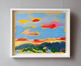 Beata Murawska : Italian landscape : Oil on Canvas