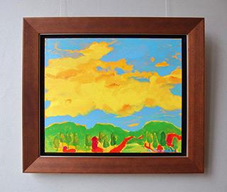 Beata Murawska : Yellow cloud : Oil on Canvas