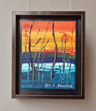 Edward Dwurnik : Beech No 3 : Oil on Canvas
