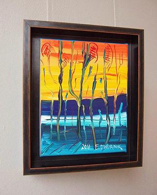 Edward Dwurnik : Beech No 4 : Oil on Canvas