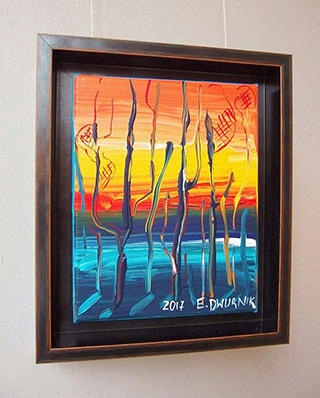 Edward Dwurnik : Beech No 5 : Oil on Canvas