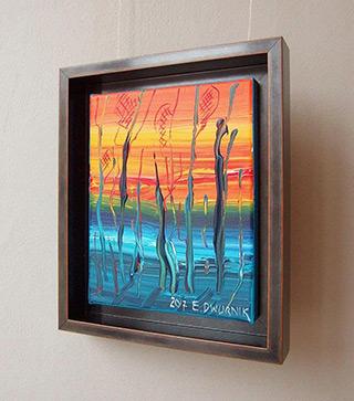 Edward Dwurnik : Beech No 6 : Oil on Canvas