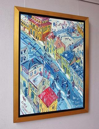 Edward Dwurnik : Góra Kalwaria : Oil on Canvas