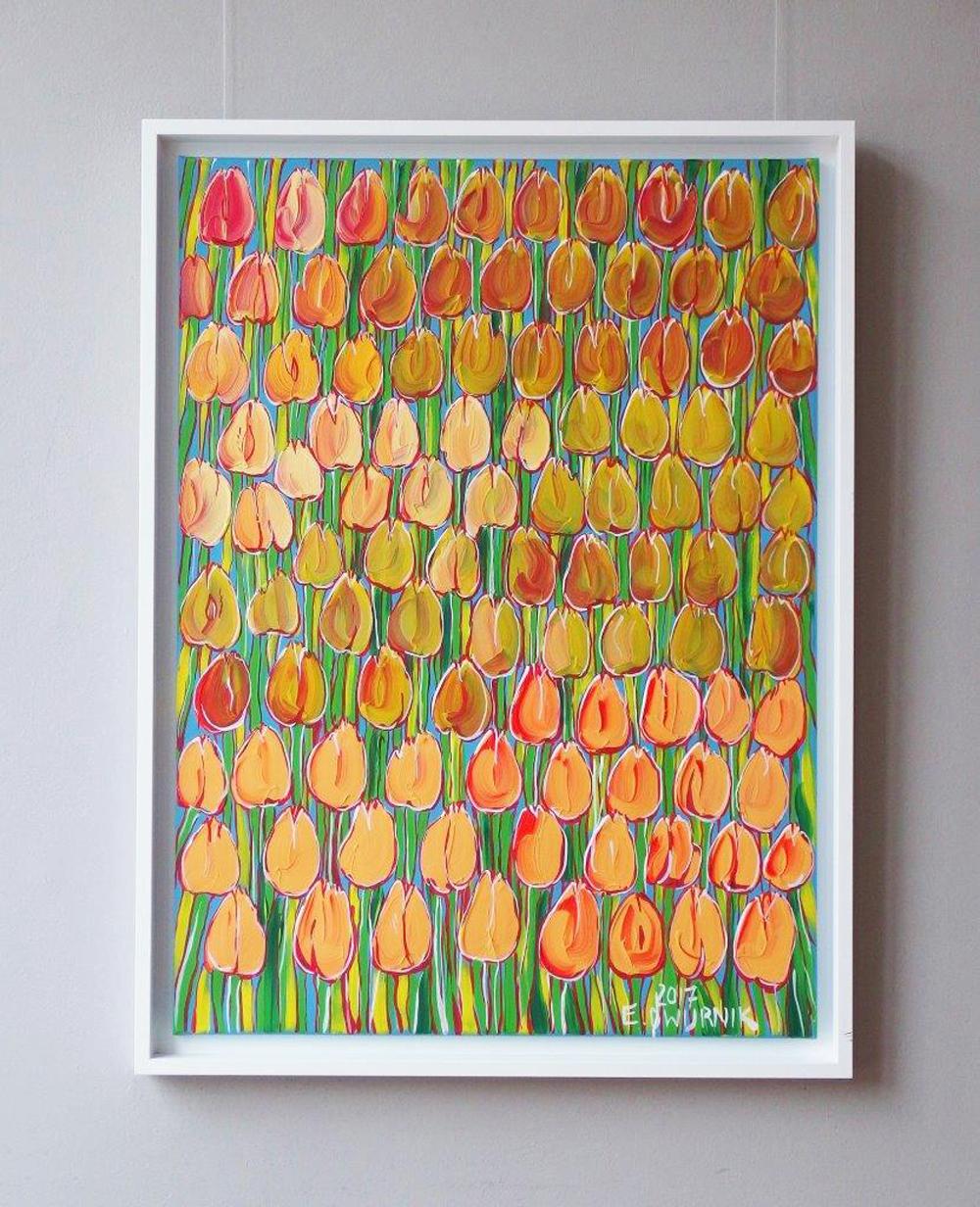 Edward Dwurnik : Only tulips