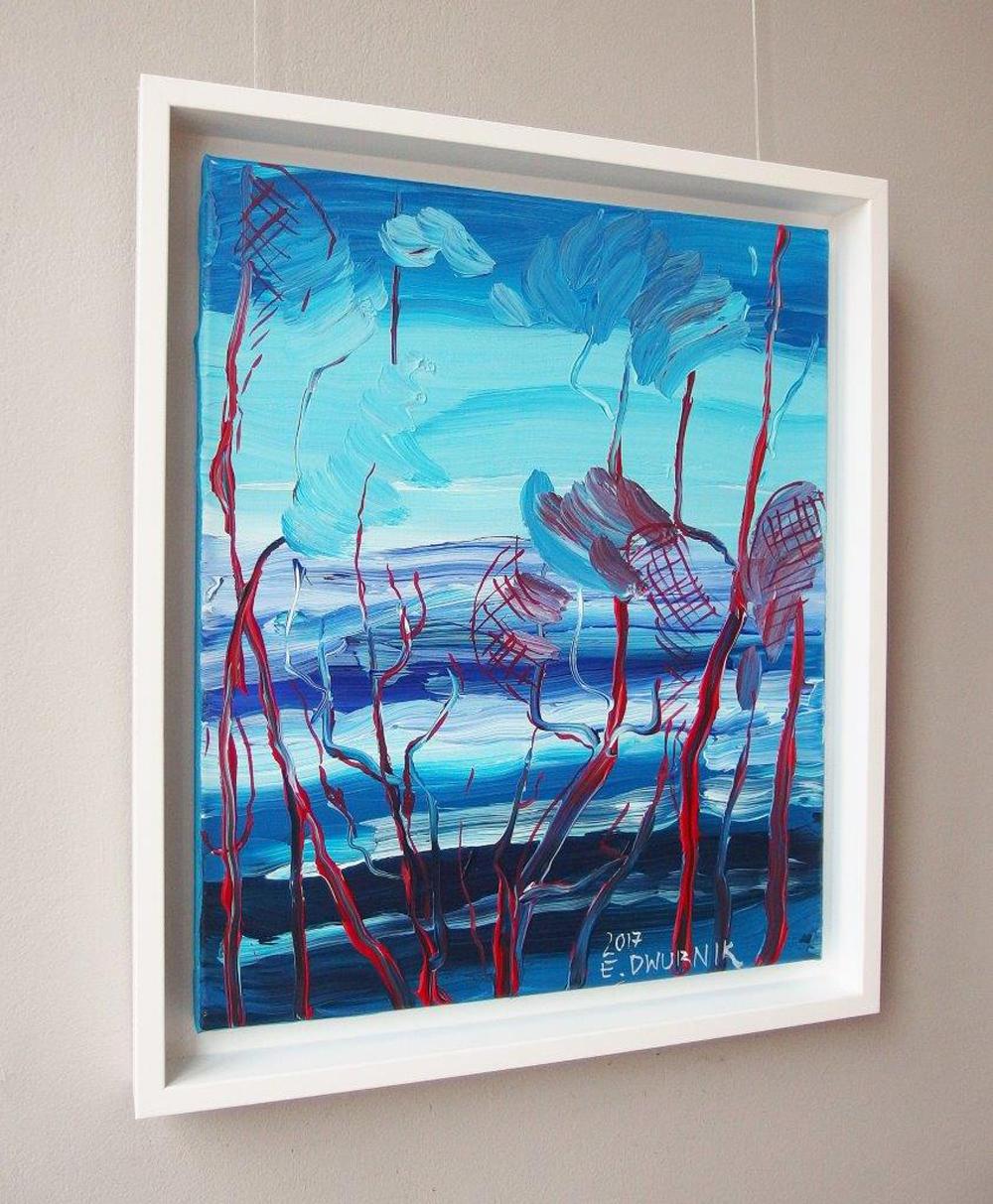 Edward Dwurnik : Pines by the sea No 1