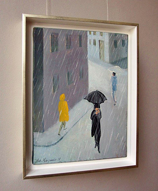 Katarzyna Karpowicz : Rain : Oil on Canvas