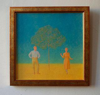 Mikołaj Kasprzyk : Adam & Eva : Oil on Canvas