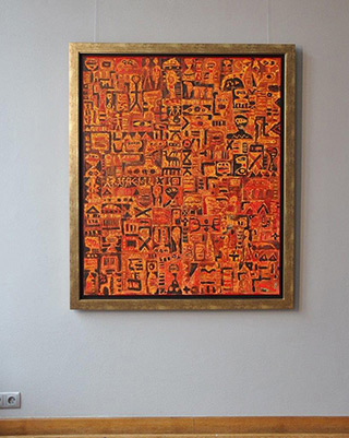 Krzysztof Pająk : Alfa Centauri : Oil on Canvas