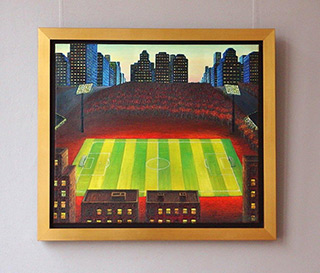 Adam Patrzyk : Playground in the city : Oil on Canvas
