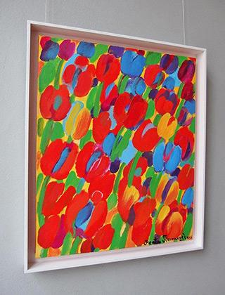 Beata Murawska : Red desire : Oil on Canvas