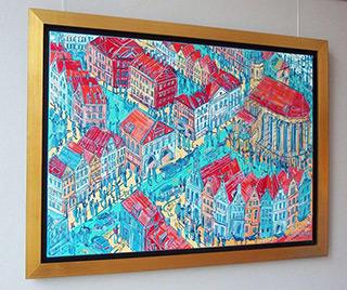 Edward Dwurnik : Jelenia Góra : Oil on Canvas