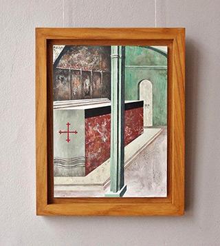 Łukasz Huculak : Saint Thomas Aquinas : Tempera on wood panel