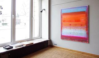 Sebastian Skoczylas : Constellation : Oil on Canvas