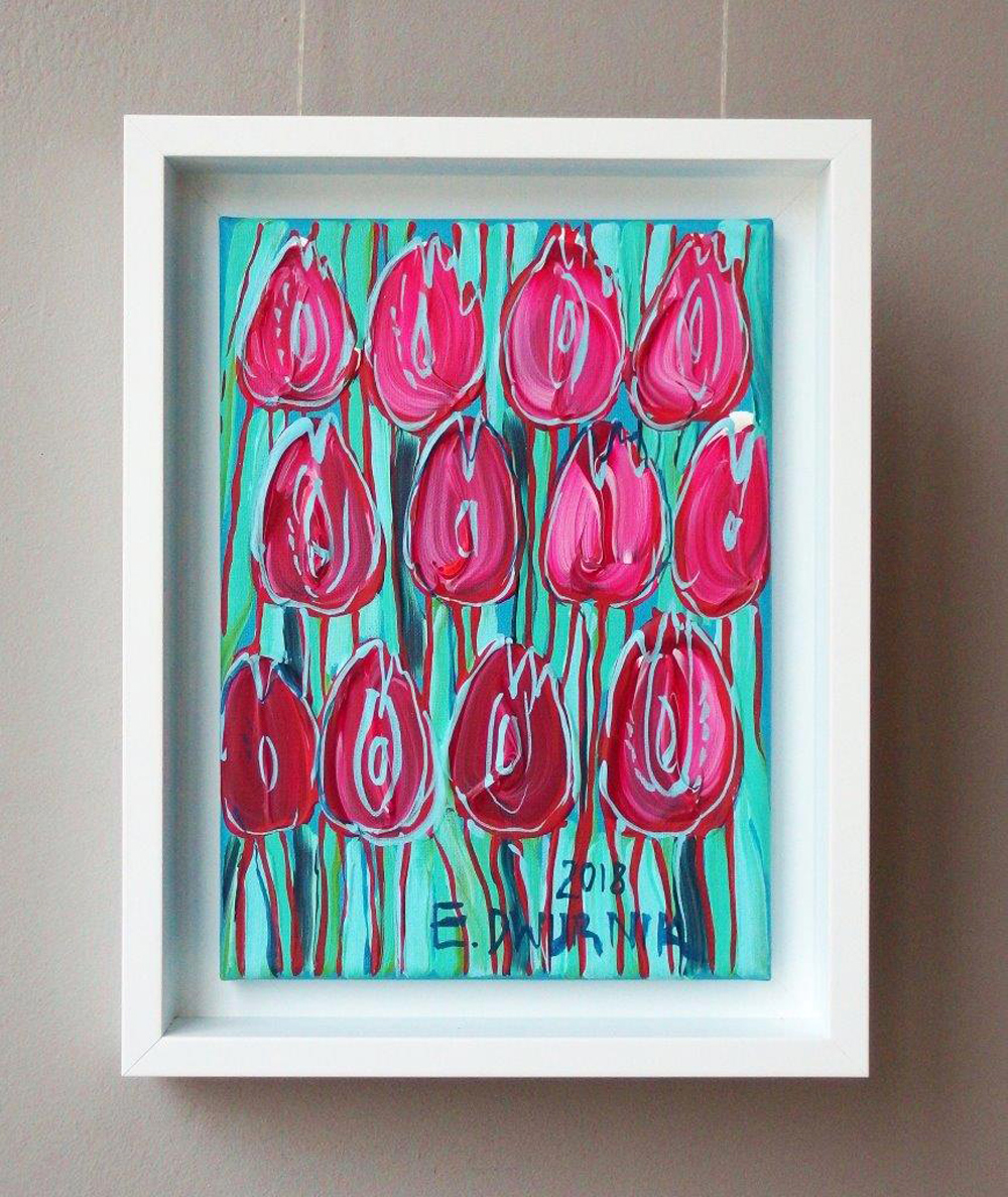 Edward Dwurnik : Pink tulips