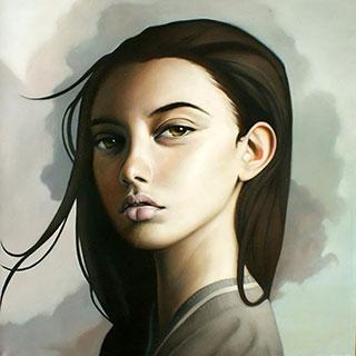 Katarzyna Kubiak : Portrait : Oil on Canvas
