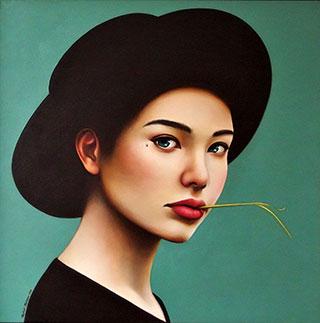 Katarzyna Kubiak : Stalk : Oil on Canvas
