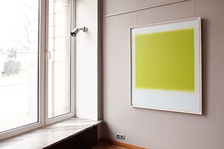 Anna Podlewska : Greenery : Oil on Canvas