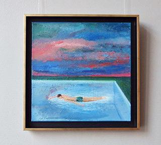 Katarzyna Karpowicz : Pool : Oil on Canvas