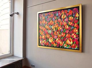 Beata Murawska : Hot wind : Oil on Canvas