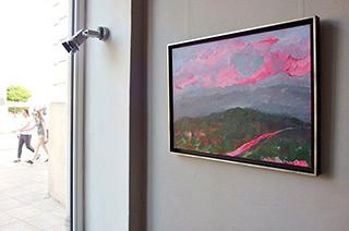 Beata Murawska : Italian sunset : Oil on Canvas