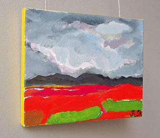 Beata Murawska : Stormy over Imperia : Oil on Canvas