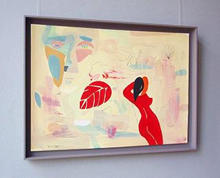 Jacek Cyganek : Nothing like the sun : Tempera on canvas