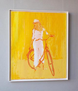 Jacek Łydżba : Bike : Oil on Canvas