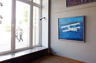 Jacek Łydżba : Flight at dawn : Oil on Canvas