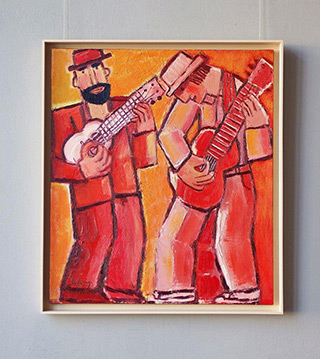 Krzysztof Kokoryn : Duo : Oil on Canvas