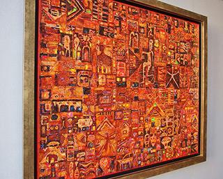 Krzysztof Pająk : Yakruna : Oil on Canvas