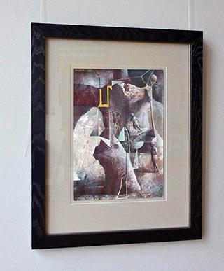 Łukasz Huculak : Incantations I : Tempera on paper