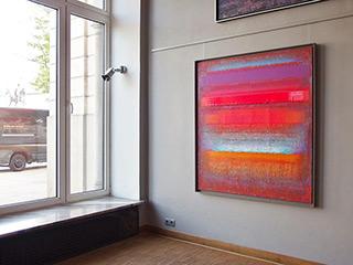 Sebastian Skoczylas : Ultra red : Oil on Canvas