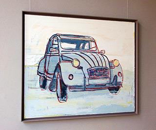 Jacek Łydżba : Citroën 2CV : Oil on Canvas