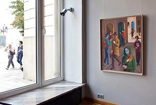 Katarzyna Karpowicz : Theater of reality : Oil on Canvas