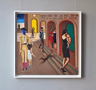 Katarzyna Karpowicz : Usual day : Oil on Canvas
