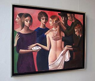 Katarzyna Karpowicz : Venus with a mask : Oil on Canvas