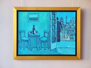 Krzysztof Kokoryn : Evening in Buenos : Oil on Canvas