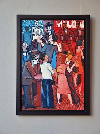 Krzysztof Kokoryn : Milonga : Oil on Canvas