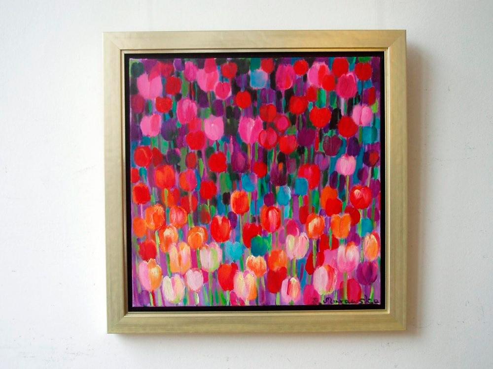 Beata Murawska : Purple Tulips
